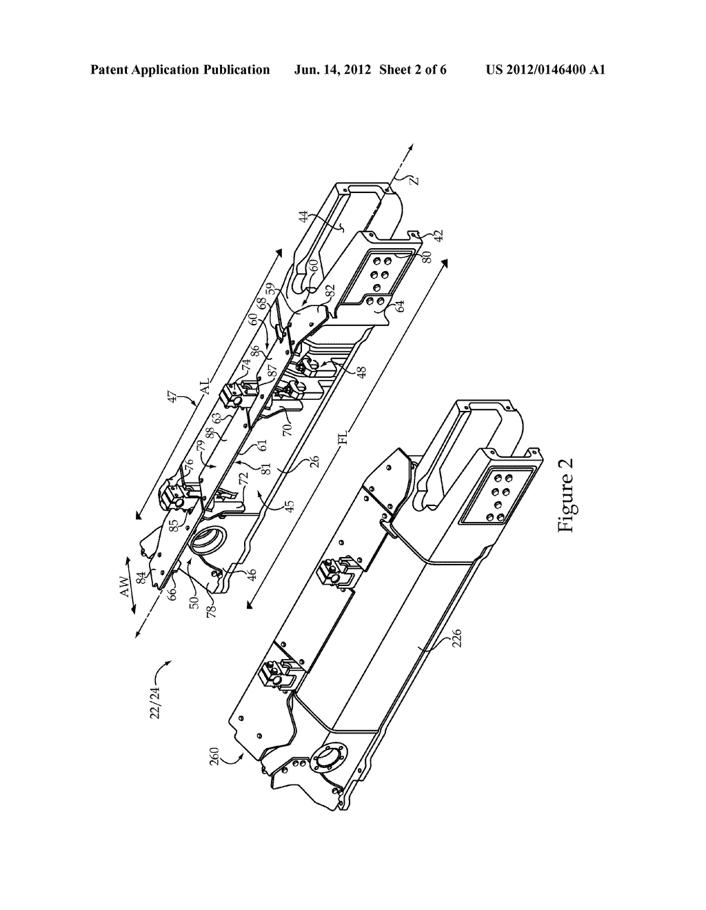 Undercarriage System For Track-Type Machine And Debris Shunting Awning     Assembly - diagram, schematic, and image 03
