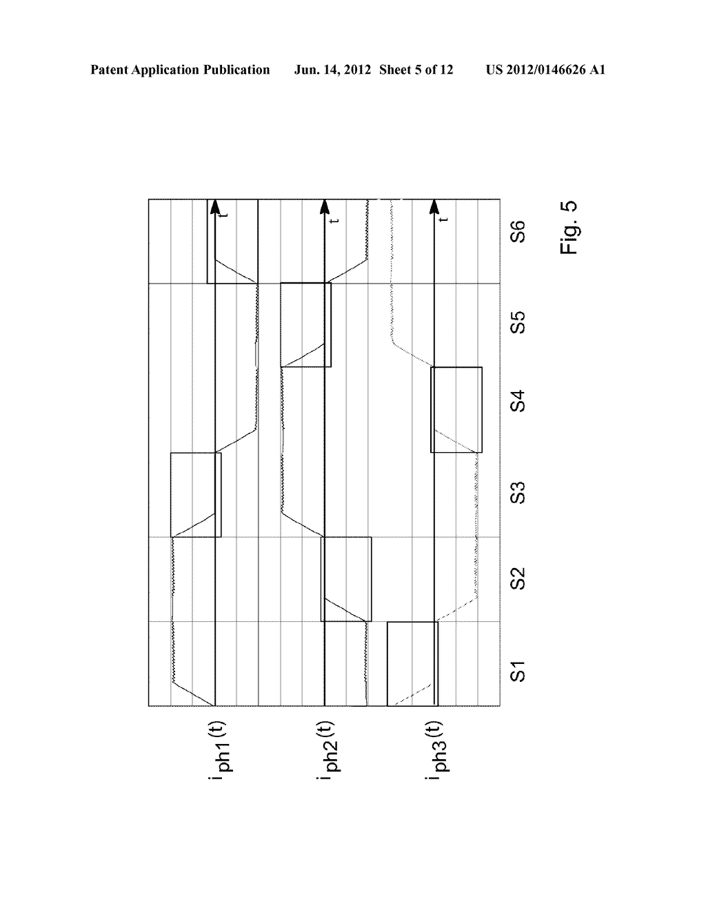 METHOD AND ARRANGEMENT FOR DETERMINING THE POSITION OF A ROTOR IN A     BRUSHLESS MOTOR OR IN STEPPER MOTOR - diagram, schematic, and image 06