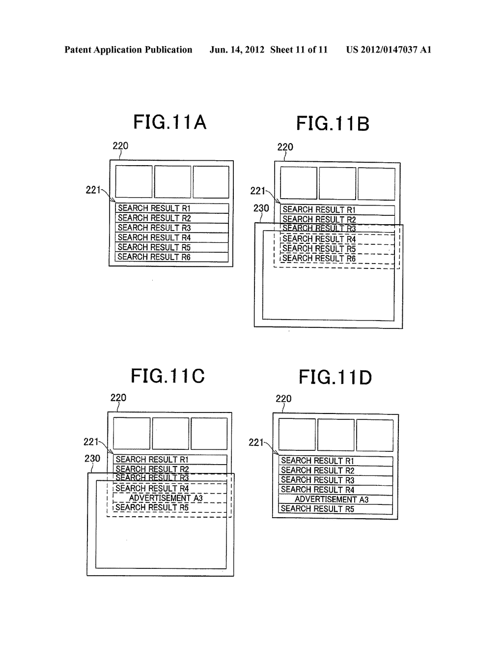 INFORMATION DISPLAY DEVICE, INFORMATION DISPLAY METHOD, INFORMATION     DISPLAY PROGRAM, RECORDING MEDIUM AND INFORMATION DISPLAY SYSTEM - diagram, schematic, and image 12