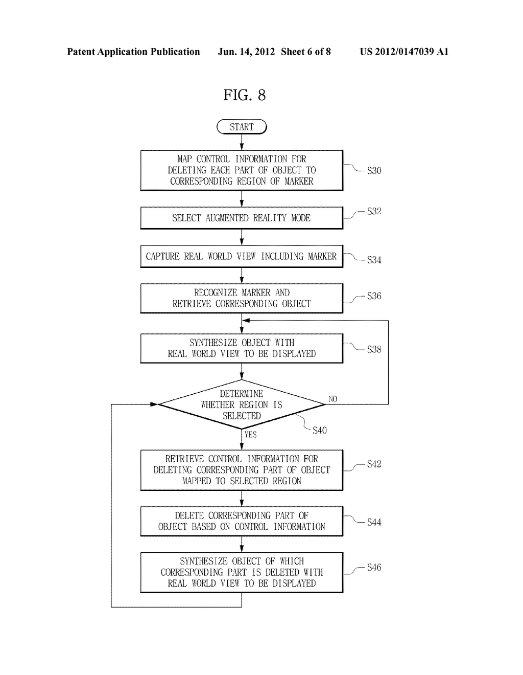 TERMINAL AND METHOD FOR PROVIDING AUGMENTED REALITY - diagram, schematic, and image 07