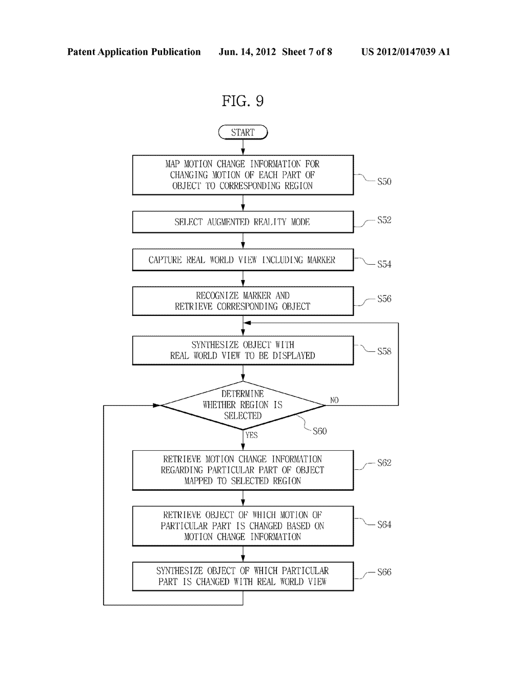 TERMINAL AND METHOD FOR PROVIDING AUGMENTED REALITY - diagram, schematic, and image 08