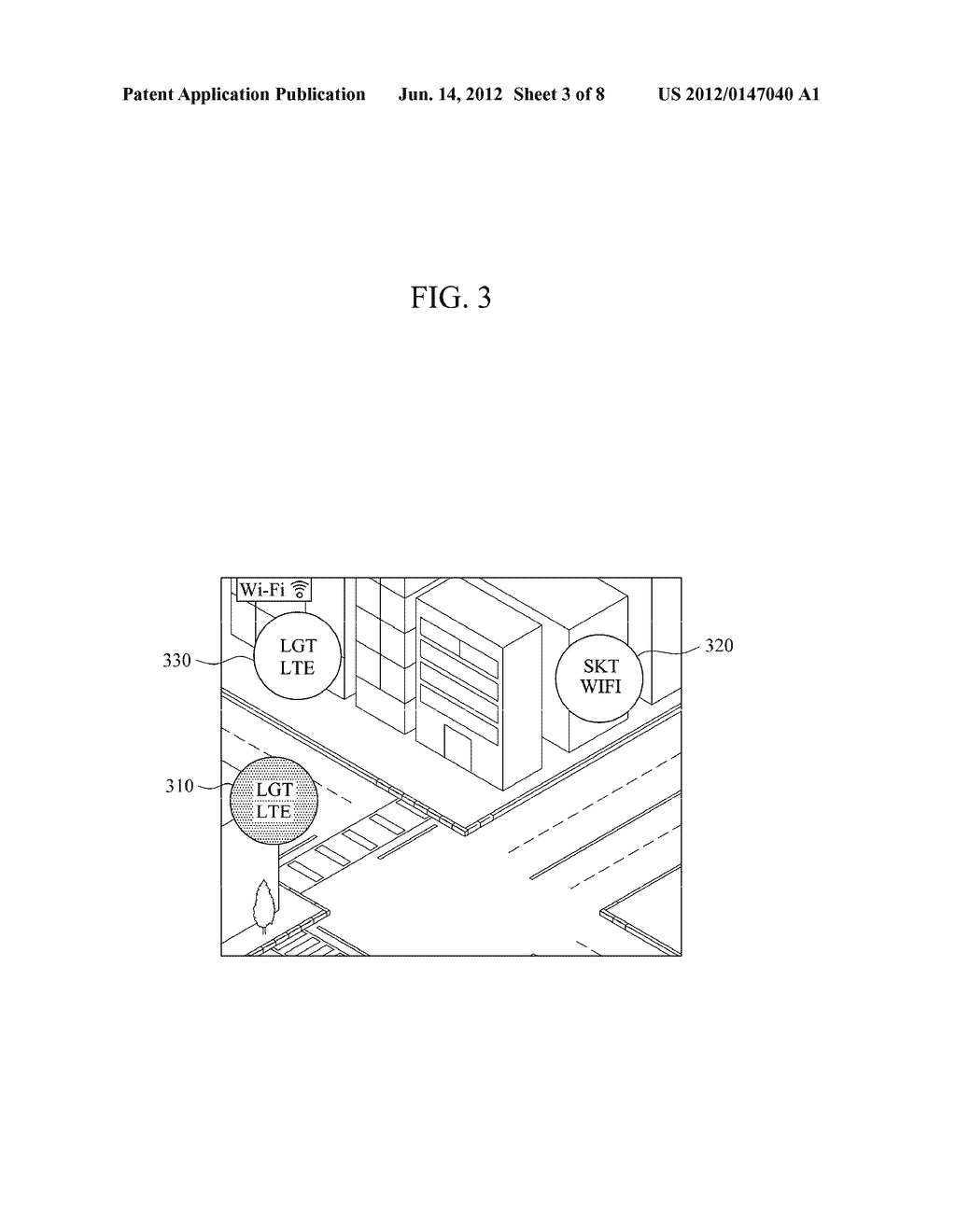 APPARATUS AND METHOD FOR PROVIDING WIRELESS NETWORK INFORMATION - diagram, schematic, and image 04