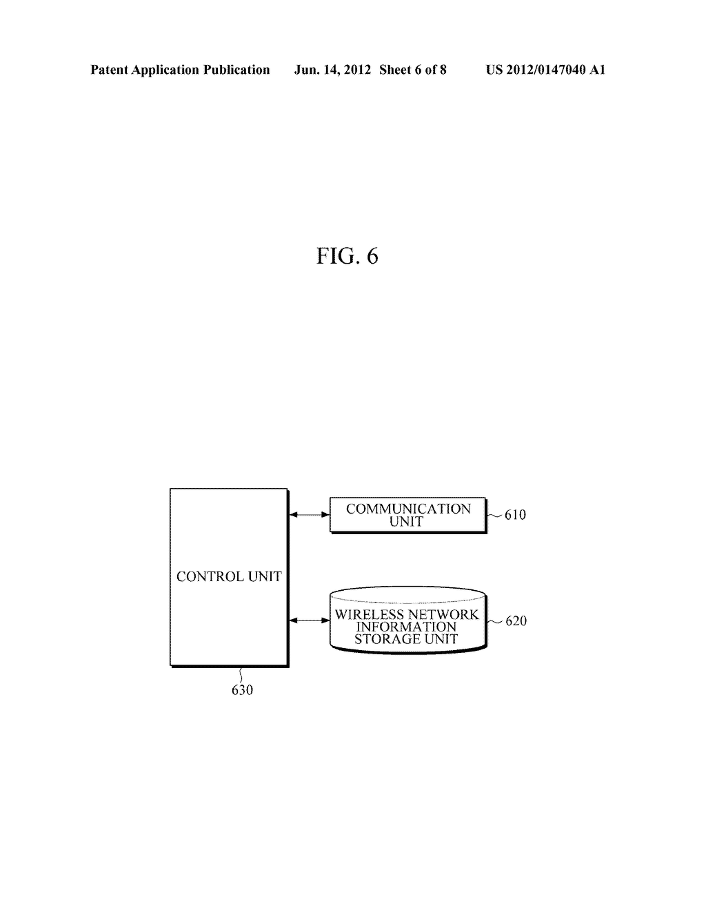 APPARATUS AND METHOD FOR PROVIDING WIRELESS NETWORK INFORMATION - diagram, schematic, and image 07