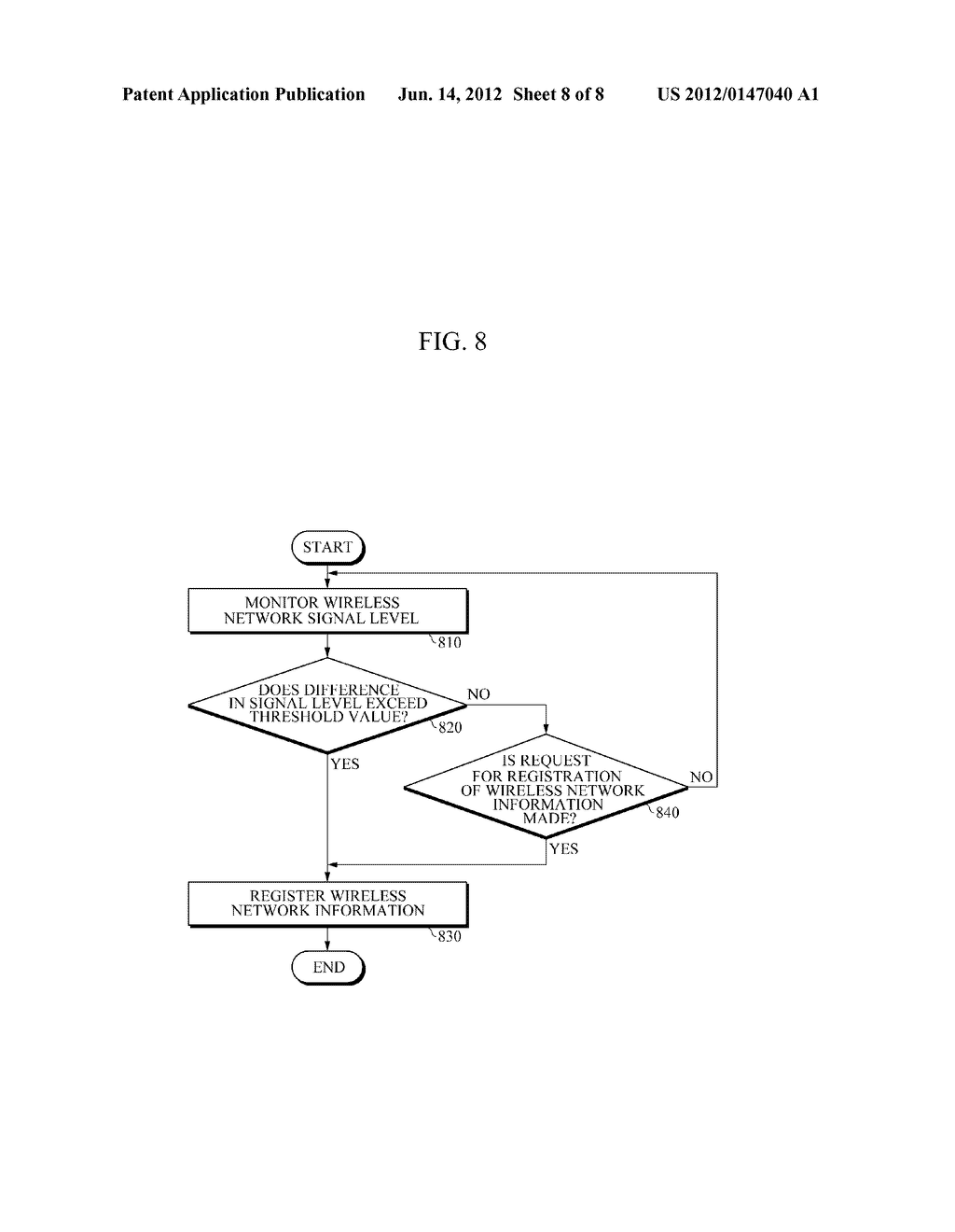 APPARATUS AND METHOD FOR PROVIDING WIRELESS NETWORK INFORMATION - diagram, schematic, and image 09