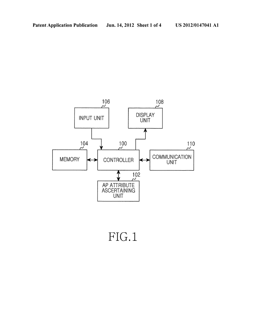 APPARATUS AND METHOD FOR SEARCHING ACCESS POINTS IN PORTABLE TERMINAL - diagram, schematic, and image 02