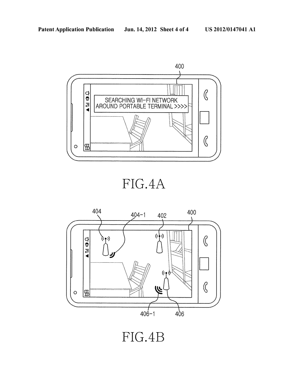 APPARATUS AND METHOD FOR SEARCHING ACCESS POINTS IN PORTABLE TERMINAL - diagram, schematic, and image 05