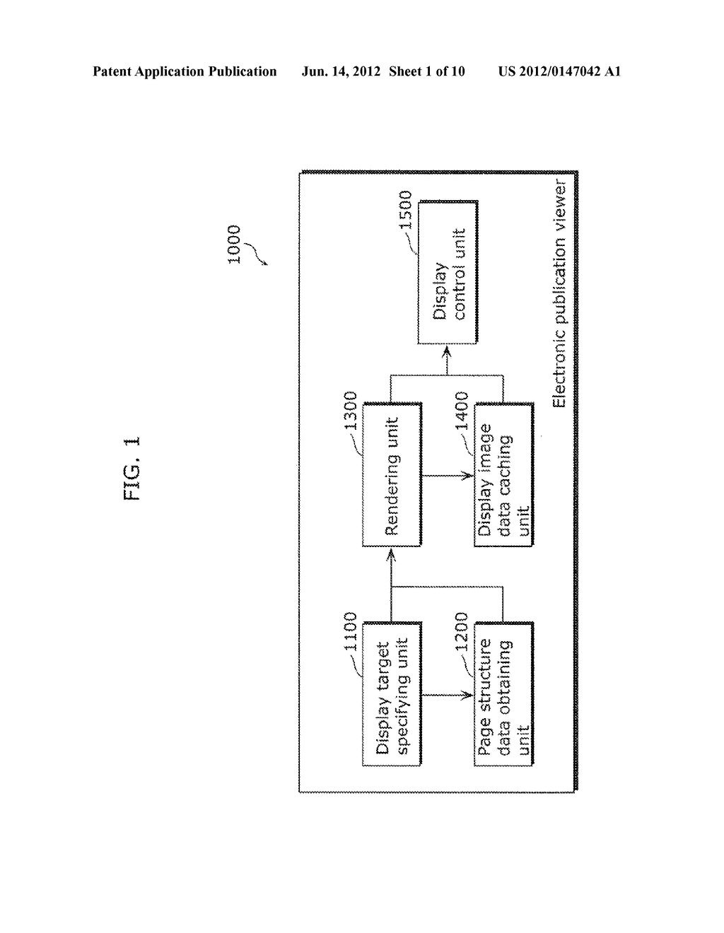 ELECTRONIC PUBLICATION VIEWER, METHOD FOR VIEWING ELECTRONIC PUBLICATION,     PROGRAM, AND INTEGRATED CIRCUIT - diagram, schematic, and image 02