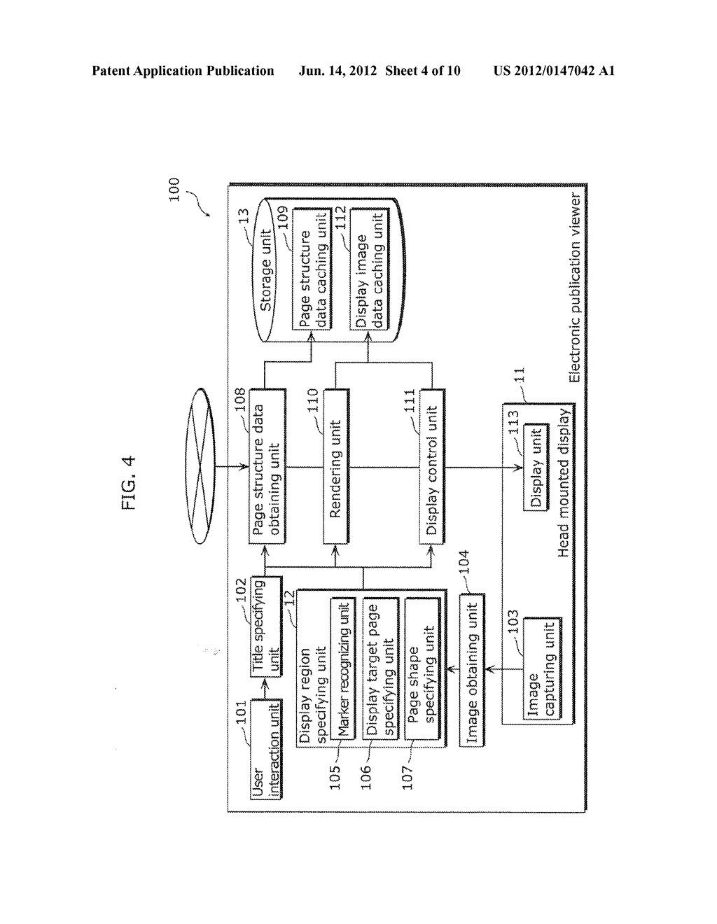 ELECTRONIC PUBLICATION VIEWER, METHOD FOR VIEWING ELECTRONIC PUBLICATION,     PROGRAM, AND INTEGRATED CIRCUIT - diagram, schematic, and image 05