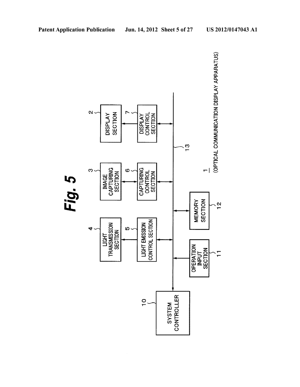 OPTICAL COMMUNICATION APPARATUS AND OPTICAL COMMUNICATION METHOD - diagram, schematic, and image 06