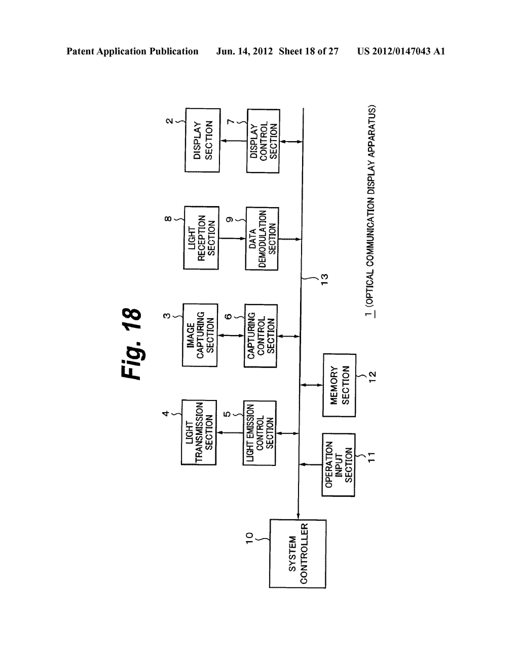 OPTICAL COMMUNICATION APPARATUS AND OPTICAL COMMUNICATION METHOD - diagram, schematic, and image 19