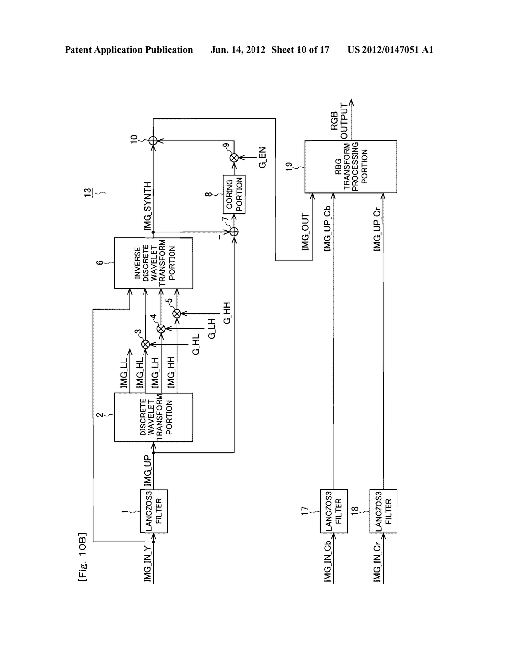 IMAGE ENLARGEMENT DEVICE, IMAGE ENLARGEMENT PROGRAM AND DISPLAY APPARATUS - diagram, schematic, and image 11