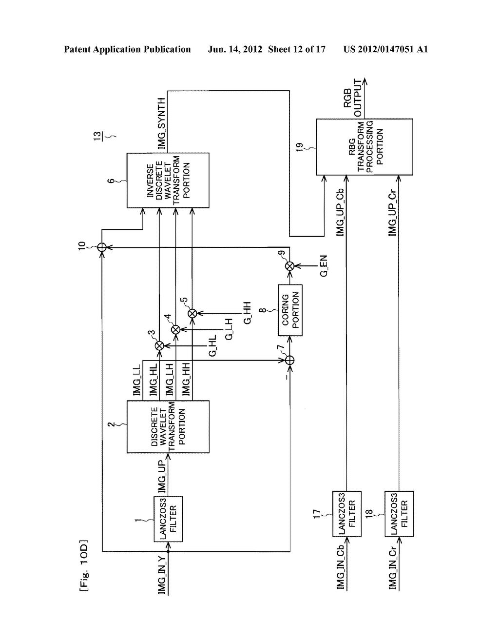 IMAGE ENLARGEMENT DEVICE, IMAGE ENLARGEMENT PROGRAM AND DISPLAY APPARATUS - diagram, schematic, and image 13