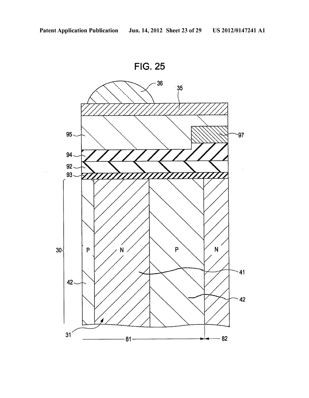 SOLID-STATE IMAGING DEVICE, METHOD FOR PRODUCING SAME, AND CAMERA - diagram, schematic, and image 24