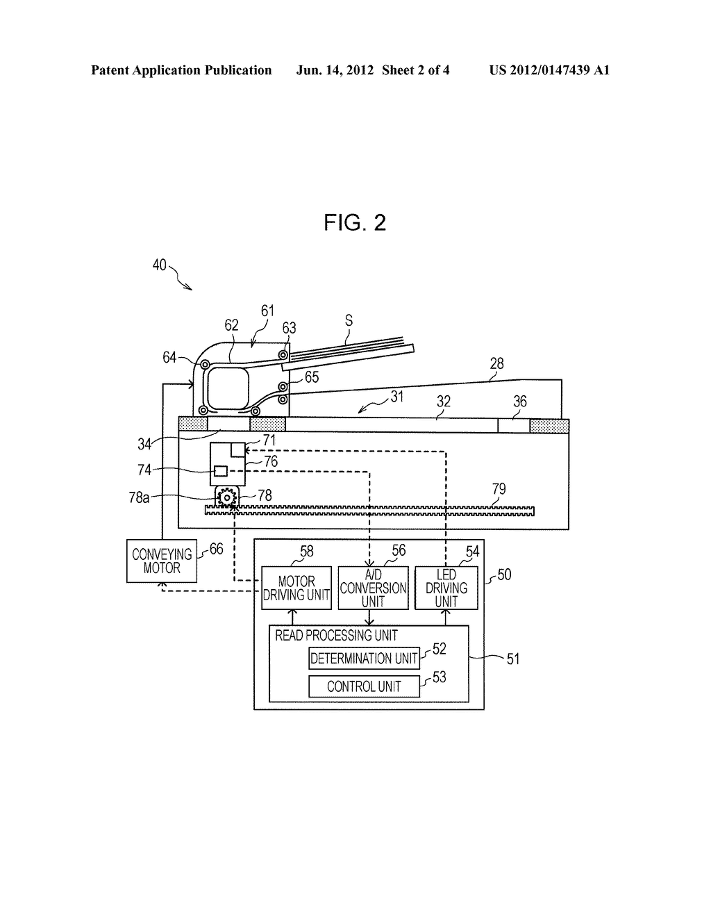 IMAGE READING APPARATUS, CONTROL METHOD THEREOF, AND RECORDING MEDIUM - diagram, schematic, and image 03