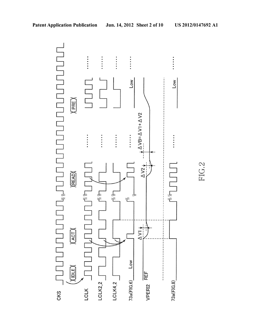SEMICONDUCTOR DEVICE OUTPUTTING READ DATA IN SYNCHRONIZATION WITH CLOCK     SIGNAL - diagram, schematic, and image 03