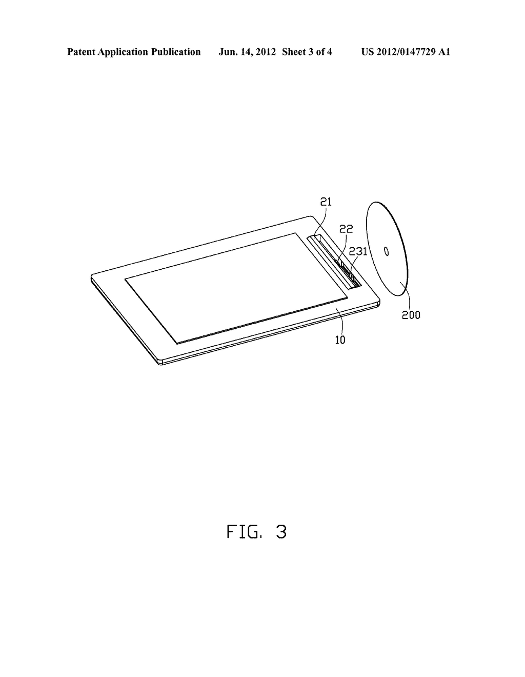 PORTABLE ELECTRONIC DEVICE WITH DISC DRIVE - diagram, schematic, and image 04