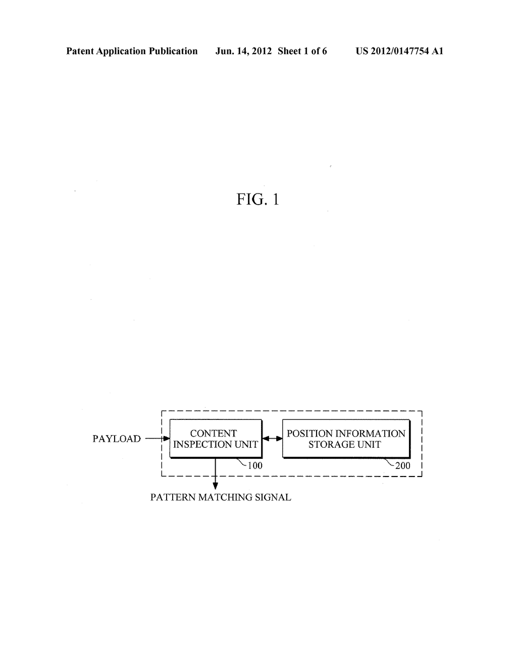 HIGH-SPEED CONTENT INSPECTION APPARATUS FOR MINIMIZING SYSTEM OVERHEAD - diagram, schematic, and image 02