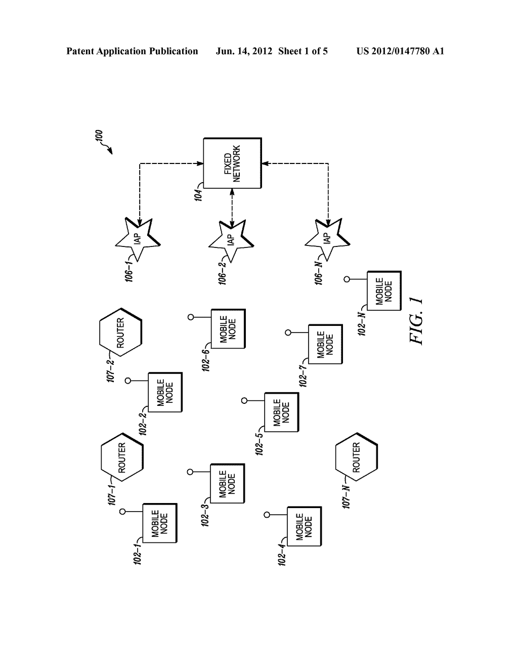 SYSTEM AND METHOD TO PROVIDE DIFFERENTIATED ROUTING IN MULTI-HOP     MULTI-RADIO WIRELESS NETWORKS - diagram, schematic, and image 02