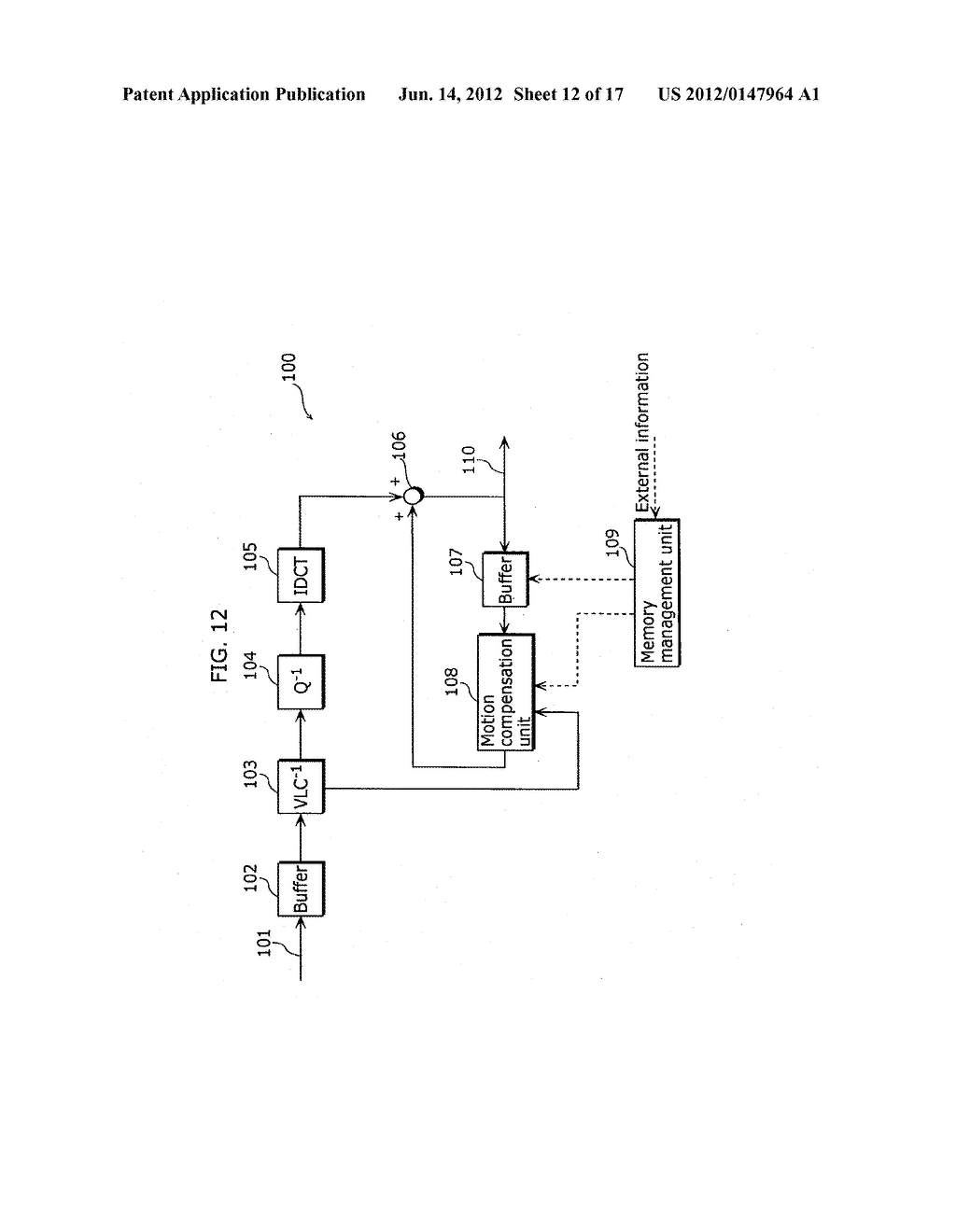 MOVING PICTURE CODING APPARATUS AND MOVING PICTURE DECODING APPARATUS - diagram, schematic, and image 13