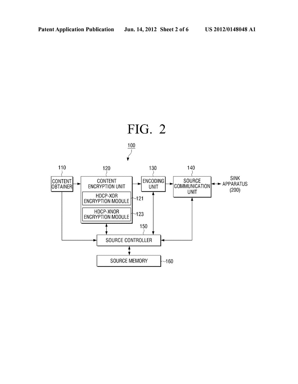 METHOD FOR ENCRYPTING CONTENT, METHOD FOR DECRYPTING CONTENT AND     ELECTRONIC APPARATUS APPLYING THE SAME - diagram, schematic, and image 03