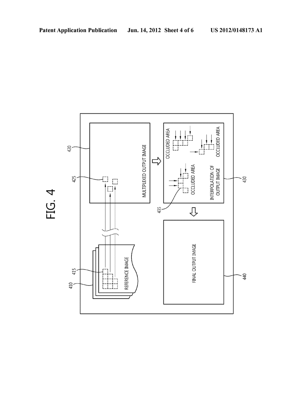 METHOD AND DEVICE FOR GENERATING MULTI-VIEWPOINT IMAGE - diagram, schematic, and image 05