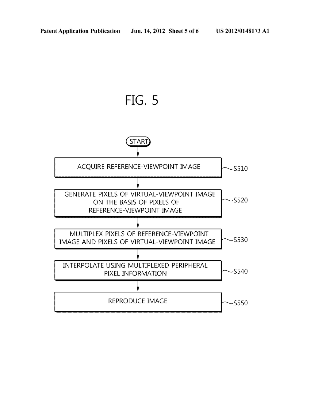 METHOD AND DEVICE FOR GENERATING MULTI-VIEWPOINT IMAGE - diagram, schematic, and image 06