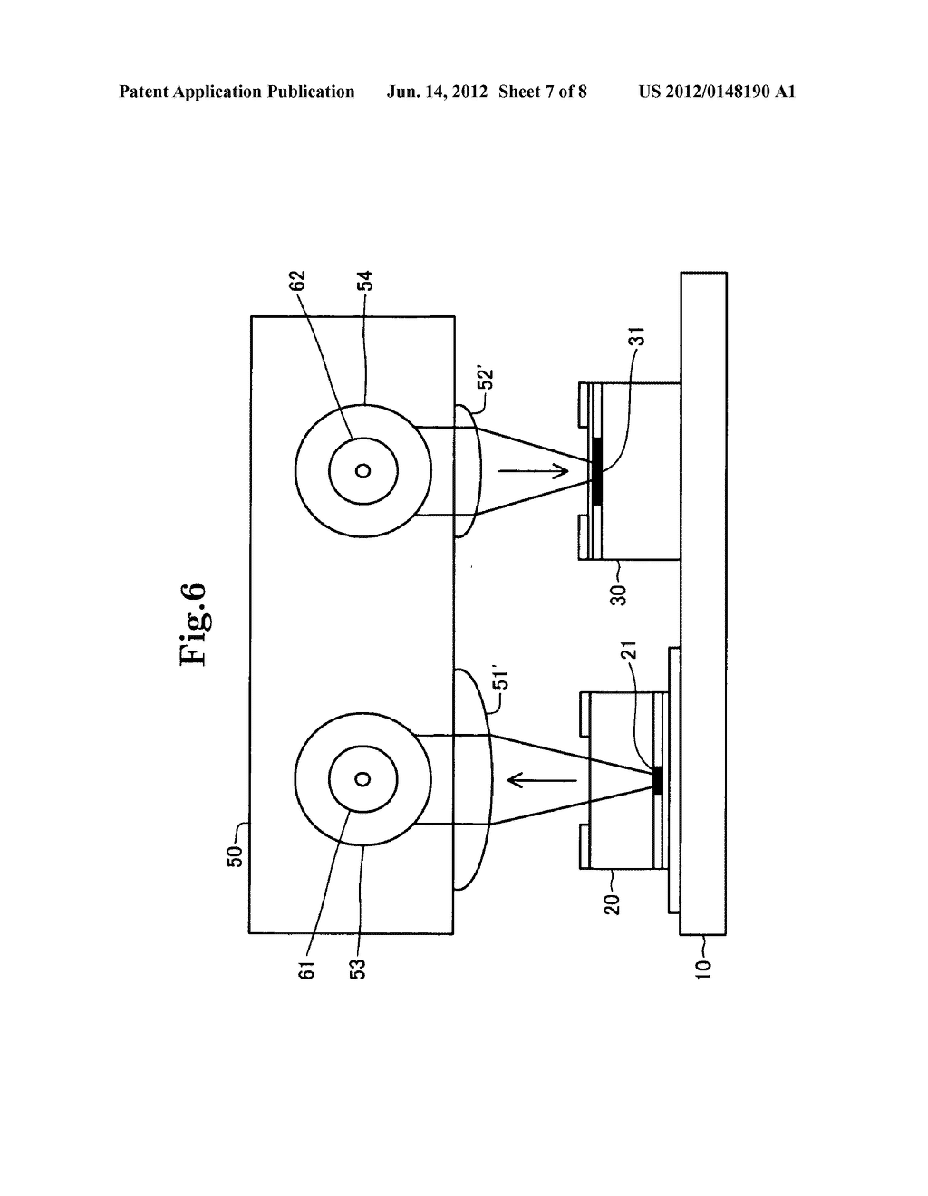 Optical module and optical transmission device using the same - diagram, schematic, and image 08