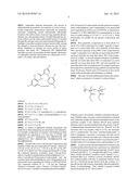 ACRYLATE/METHACRYLATE-BASED STAR COPOLYMER/ANTHRANILIC DIAMIDE     COMPOSITIONS FOR PROPAGLE COATING diagram and image