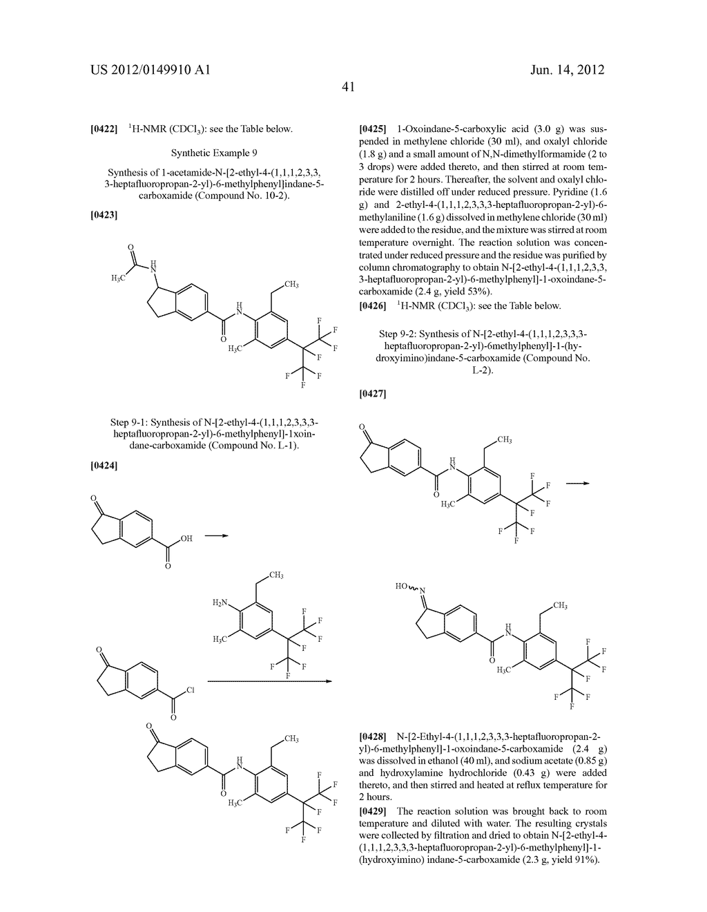 Pesticidal Carboxamides - diagram, schematic, and image 42