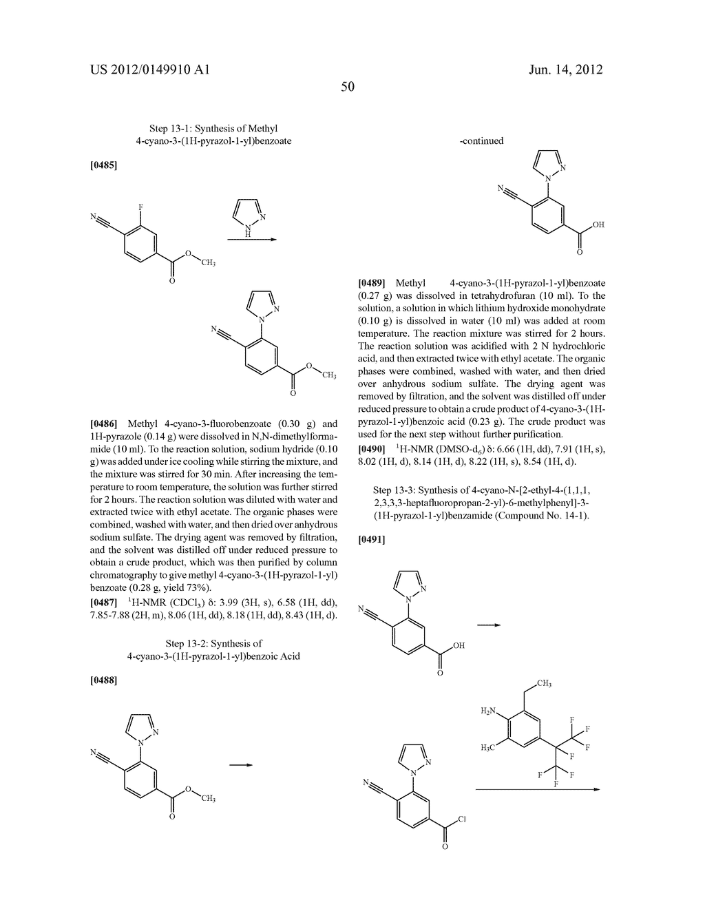 Pesticidal Carboxamides - diagram, schematic, and image 51