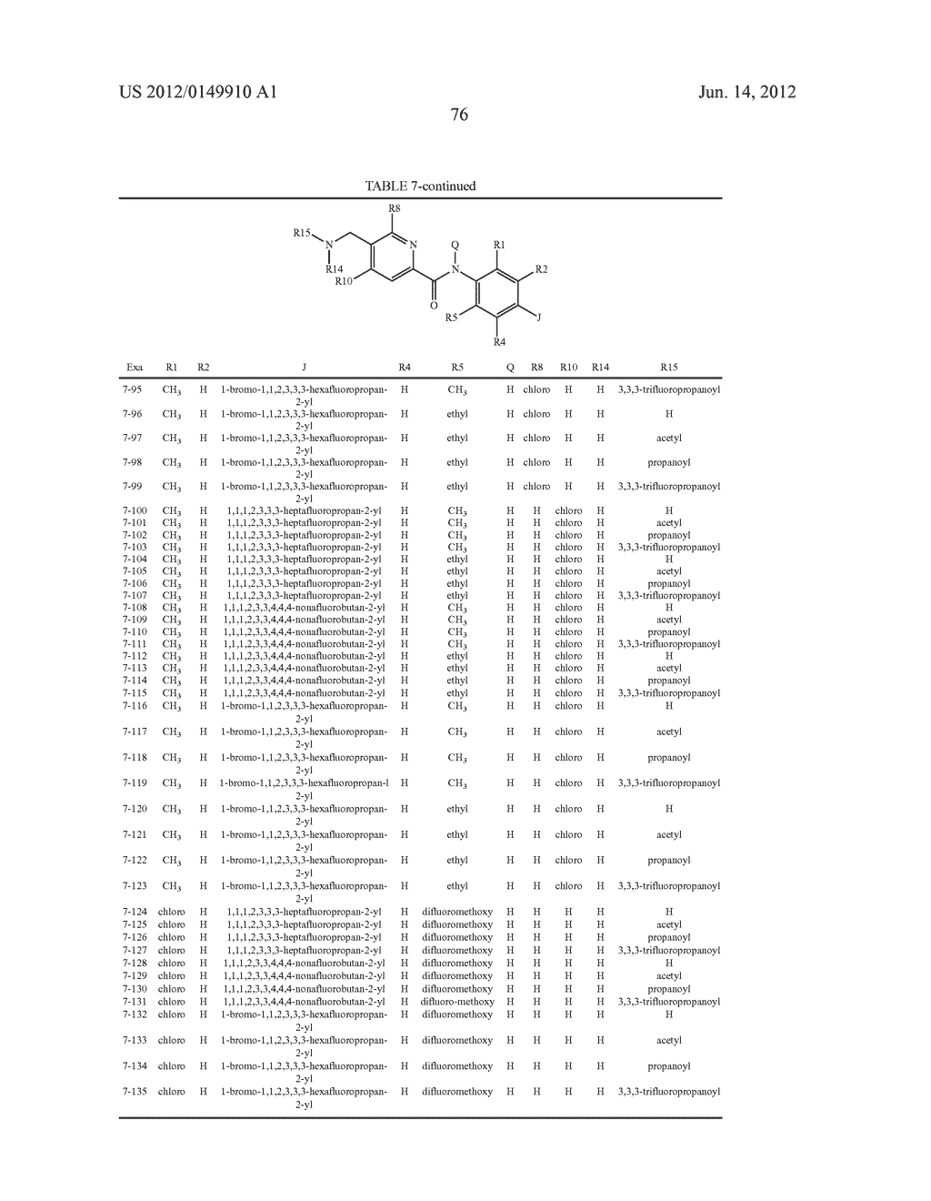 Pesticidal Carboxamides - diagram, schematic, and image 77