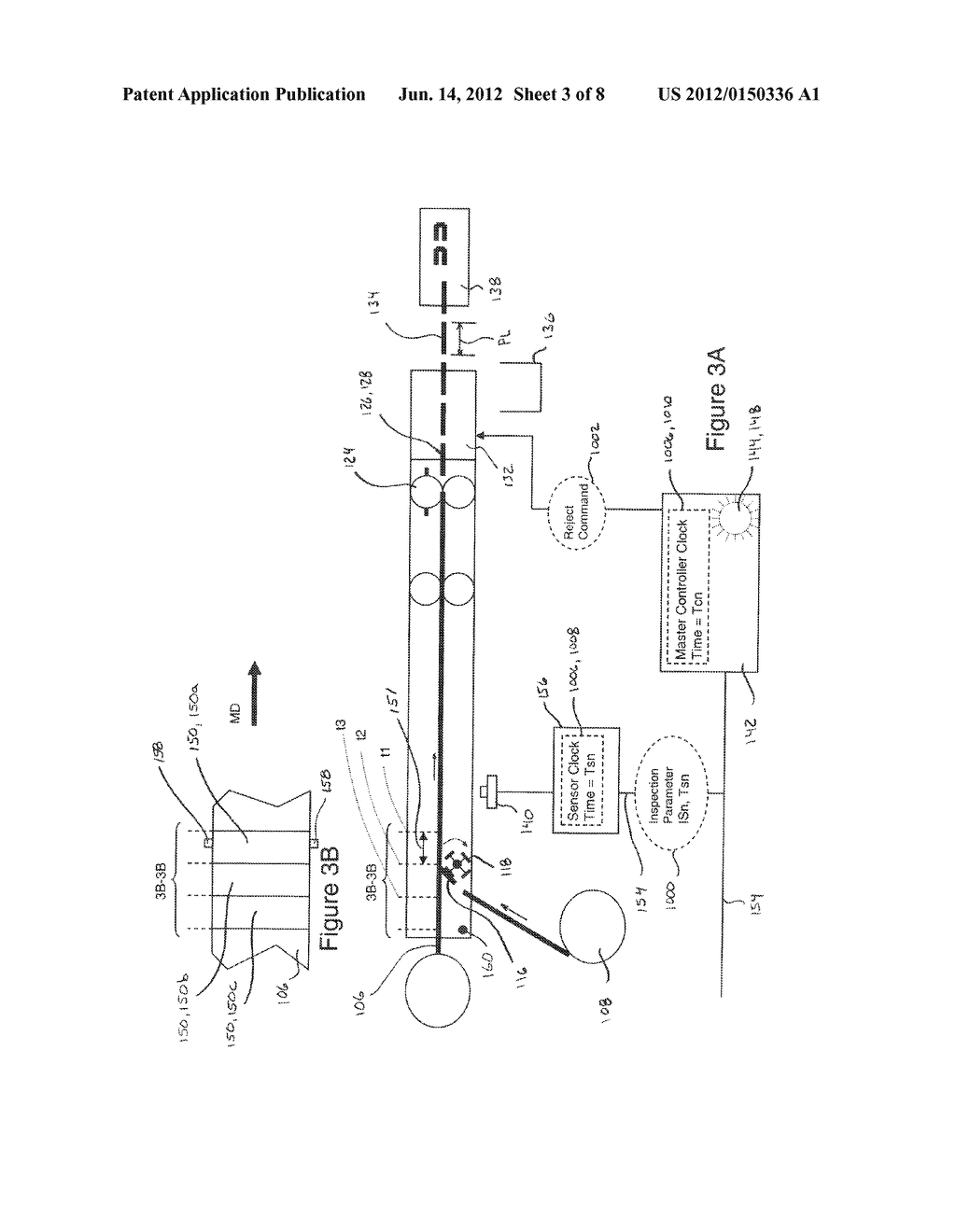 Systems and Methods for Detecting and Rejecting Defective Absorbent     Articles from A Converting Line - diagram, schematic, and image 04