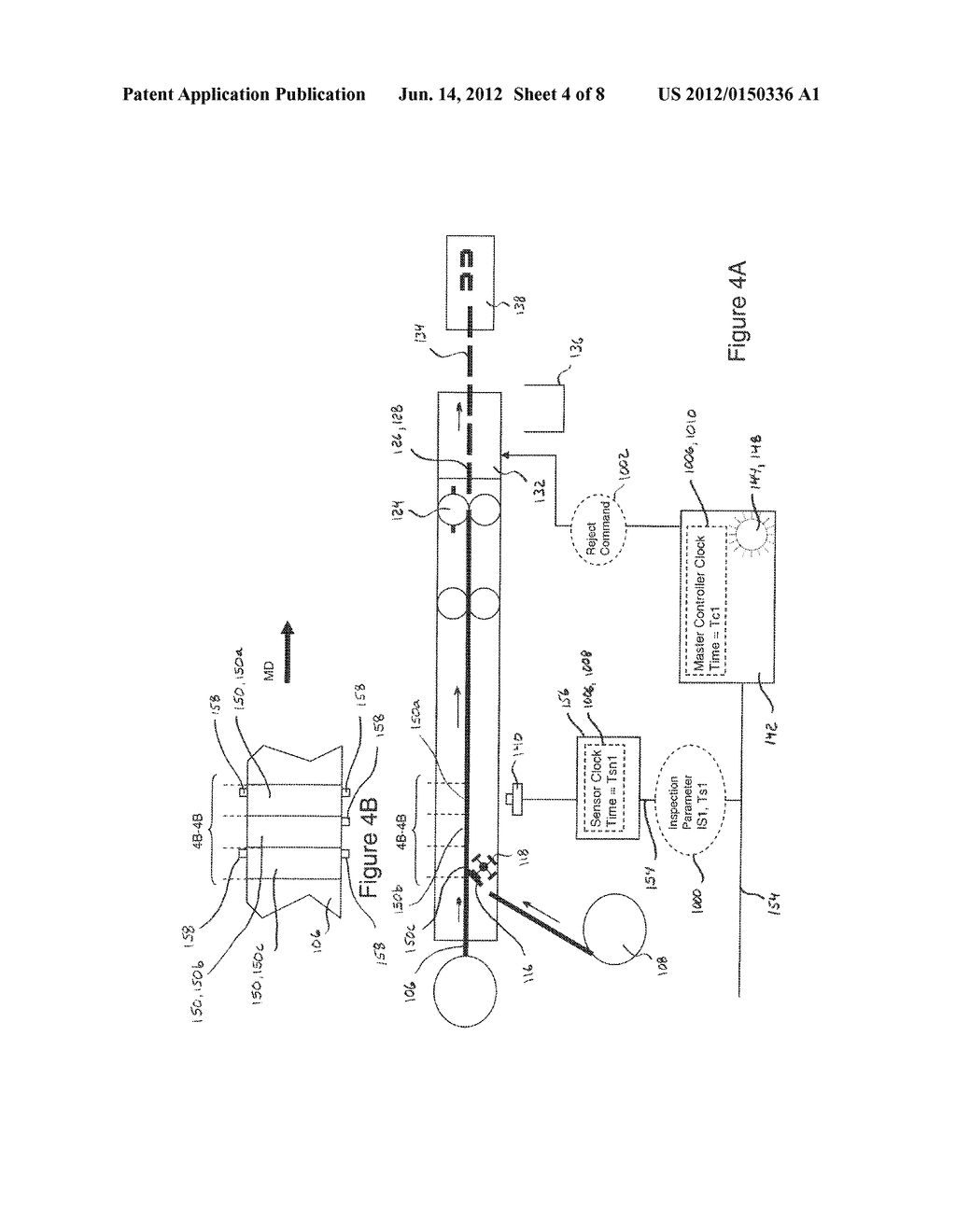 Systems and Methods for Detecting and Rejecting Defective Absorbent     Articles from A Converting Line - diagram, schematic, and image 05