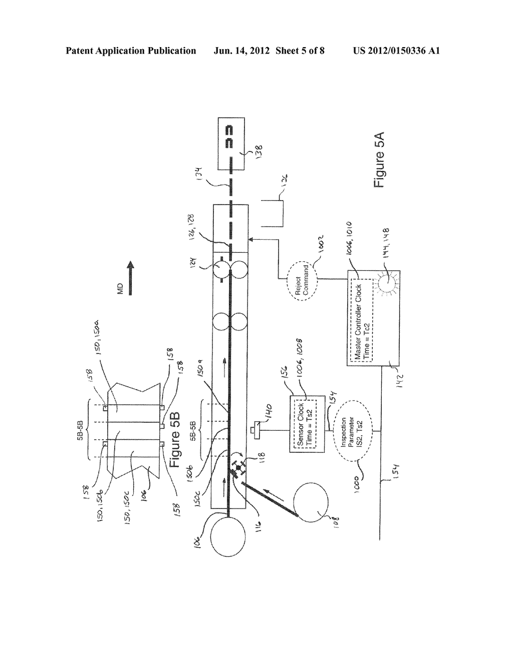 Systems and Methods for Detecting and Rejecting Defective Absorbent     Articles from A Converting Line - diagram, schematic, and image 06