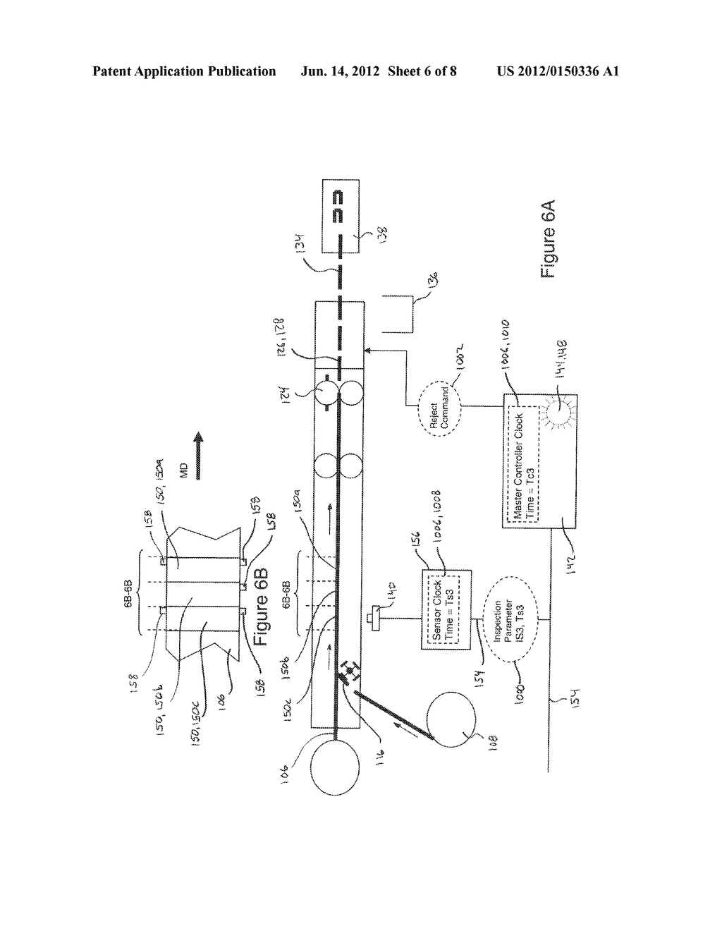 Systems and Methods for Detecting and Rejecting Defective Absorbent     Articles from A Converting Line - diagram, schematic, and image 07