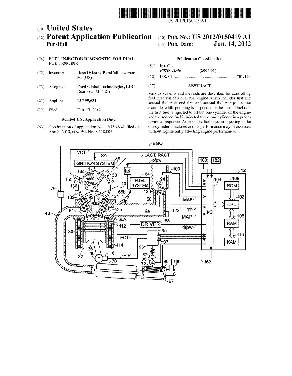 Fuel Injector Diagnostic For Dual Engine Diagram Schematic And Image 01