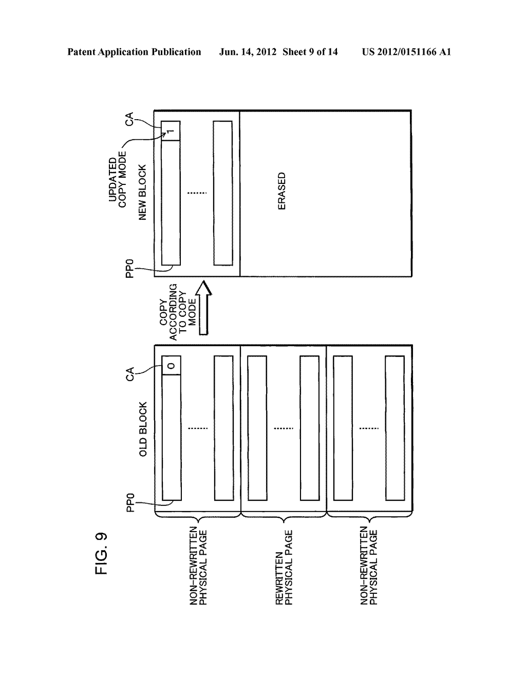 NONVOLATILE STORAGE DEVICE AND MEMORY CONTROLLER - diagram, schematic, and image 10