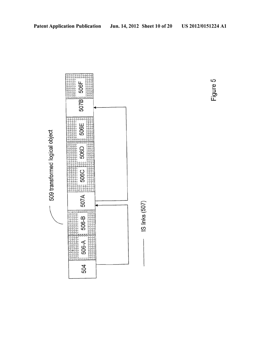 SYSTEMS AND METHODS FOR TRANSFORMATION OF LOGICAL DATA OBJECTS FOR STORAGE - diagram, schematic, and image 11