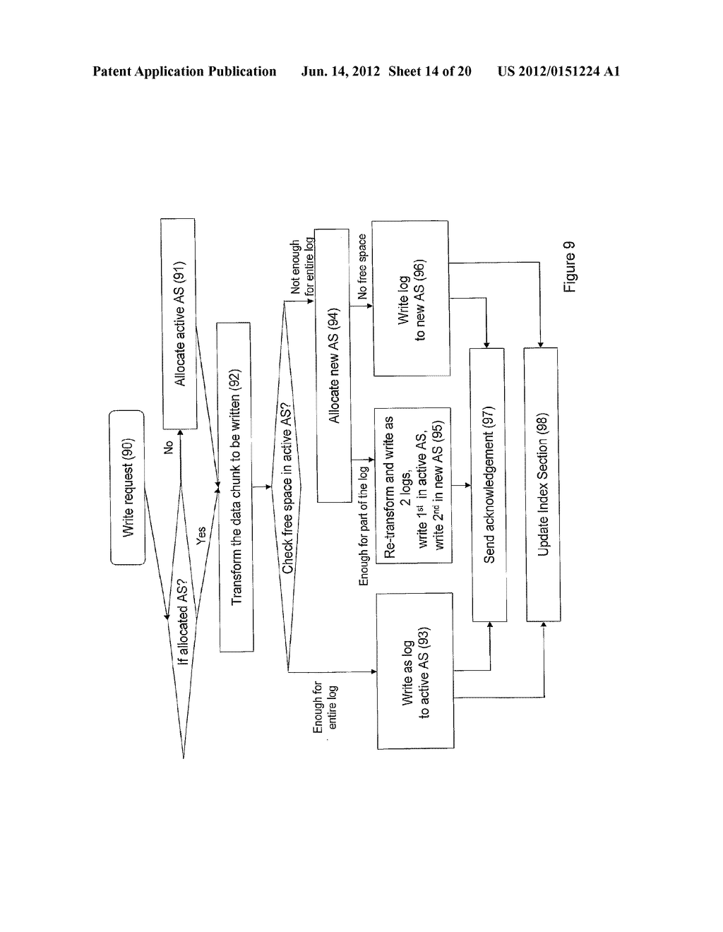 SYSTEMS AND METHODS FOR TRANSFORMATION OF LOGICAL DATA OBJECTS FOR STORAGE - diagram, schematic, and image 15