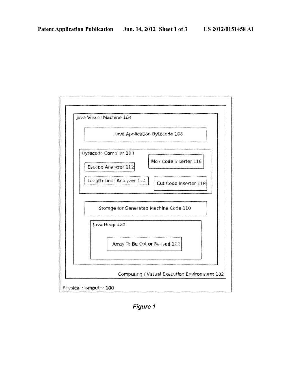 SYSTEM AND METHOD FOR REMOVAL OF ARRAYCOPIES IN JAVA BY CUTTING THE LENGTH     OF ARRAYS - diagram, schematic, and image 02