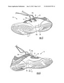 FOOTWEAR LACING SYSTEM diagram and image