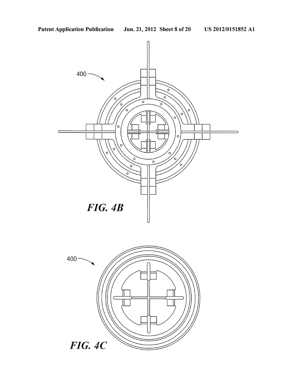 METHODS AND APPARATUS FOR ANTENNA HAVING GUY WIRE TELESCOPING - diagram,  schematic, and image 09