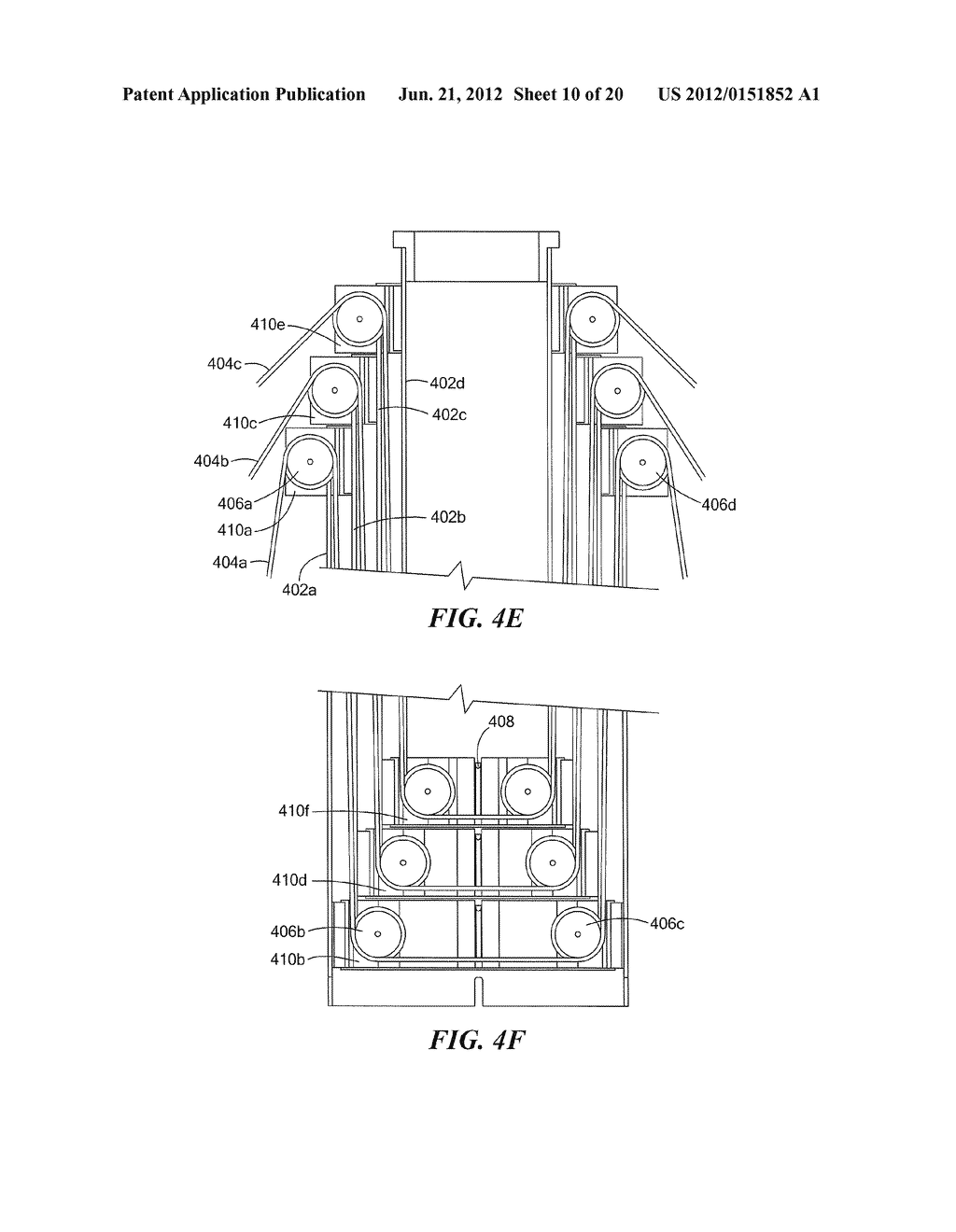 METHODS AND APPARATUS FOR ANTENNA HAVING GUY WIRE TELESCOPING - diagram, schematic, and image 11