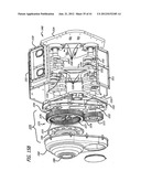 Two-cycle, opposed-piston internal combustion engine diagram and image