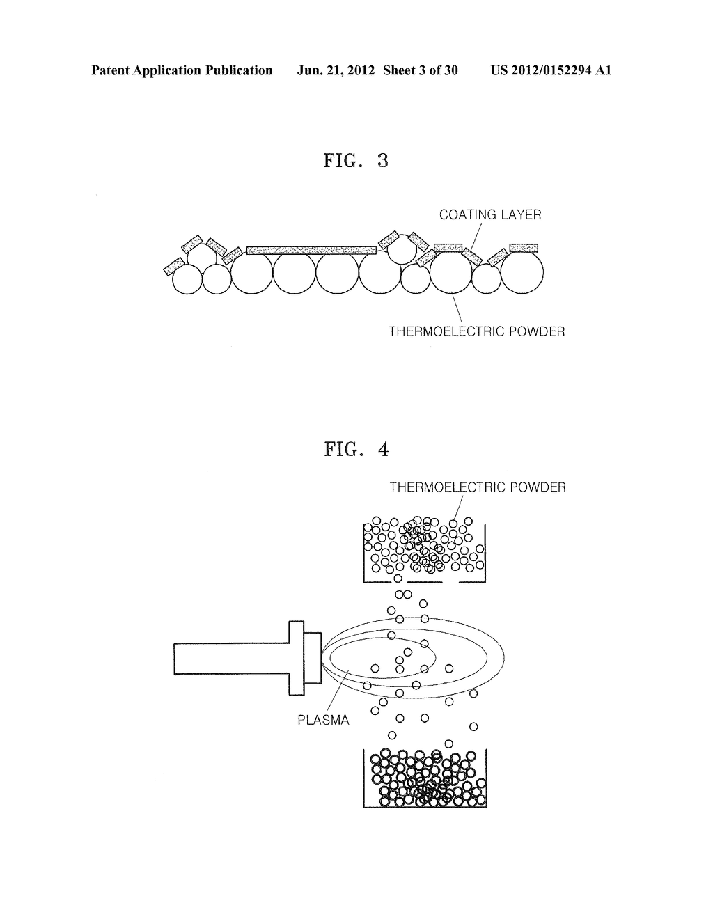 THERMOELECTRIC MATERIAL INCLUDING COATING LAYERS, METHOD OF PREPARING THE     THERMOELECTRIC MATERIAL, AND THERMOELECTRIC DEVICE INCLUDING THE     THERMOELECTRIC MATERIAL - diagram, schematic, and image 04