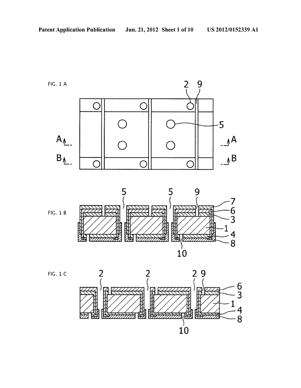 THIN FILM SOLAR CELL AND METHOD FOR MANUFACTURING SAME - diagram, schematic, and image 02