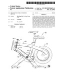 Brake device for an exercise bicycle diagram and image