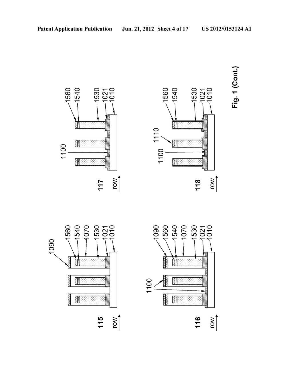 VERTICALLY STRUCTURED PASSIVE PIXEL ARRAYS AND METHODS FOR FABRICATING THE     SAME - diagram, schematic, and image 05