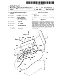 COLUMN-MOUNTED KNEE AIRBAG DEVICE diagram and image