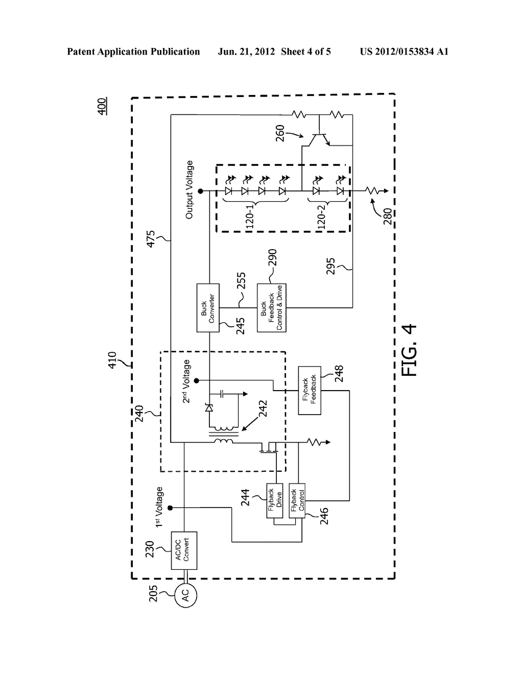 MULTICHANNEL LIGHTING UNIT AND DRIVER FOR SUPPLYING CURRENT TO LIGHT     SOURCES IN MULTICHANNEL LIGHTING UNIT - diagram, schematic, and image 05